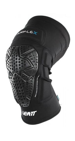 Leatt Brace 3DF AirFlex Pro Benskydd svart